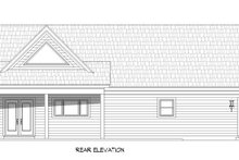 Architectural House Design - Traditional Exterior - Rear Elevation Plan #932-408