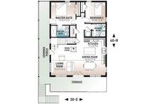 Cottage Floor Plan - Main Floor Plan Plan #23-2718