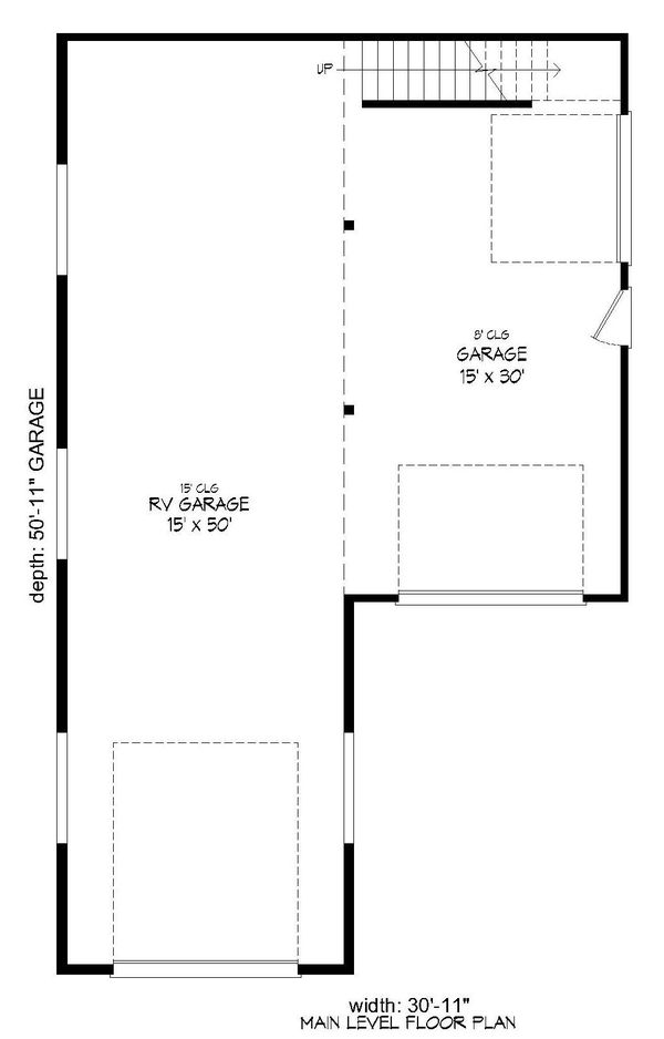 Cottage Floor Plan - Main Floor Plan Plan #932-118