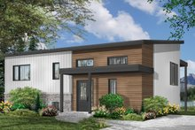Contemporary Exterior - Front Elevation Plan #23-2315