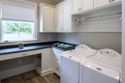 European Style House Plan - 5 Beds 4 Baths 4221 Sq/Ft Plan #929-855 Interior - Laundry