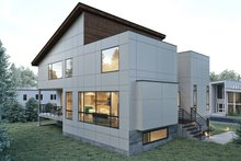 House Plan Design - Contemporary Exterior - Other Elevation Plan #1066-32