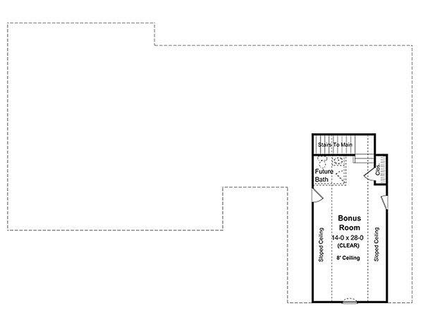 Southern Floor Plan - Other Floor Plan Plan #21-230