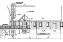 House Plan Design - Cabin Exterior - Other Elevation Plan #3-227