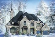 European Style House Plan - 4 Beds 2 Baths 4054 Sq/Ft Plan #25-4476
