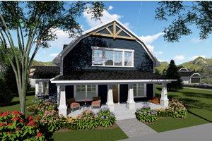 Farmhouse Exterior - Front Elevation Plan #70-1419