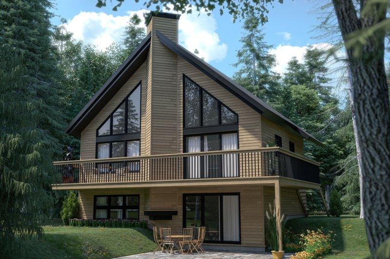 House Plan Design - Modern Exterior - Front Elevation Plan #23-2023