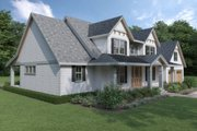 Cottage Style House Plan - 3 Beds 3 Baths 2915 Sq/Ft Plan #1070-72 Exterior - Other Elevation