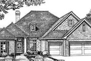 Traditional Style House Plan - 4 Beds 3 Baths 2255 Sq/Ft Plan #310-244 Exterior - Front Elevation