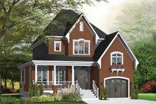 Home Plan - Farmhouse Exterior - Front Elevation Plan #23-807