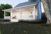 Cottage Style House Plan - 2 Beds 2 Baths 1616 Sq/Ft Plan #497-13 Exterior - Front Elevation