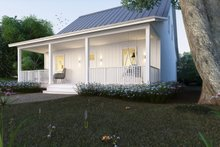 Cottage Exterior - Front Elevation Plan #497-13