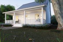 House Blueprint - Cottage Exterior - Front Elevation Plan #497-13