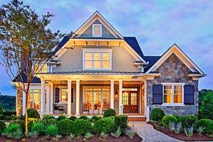 Dream House Plan - Craftsman Exterior - Front Elevation Plan #927-5