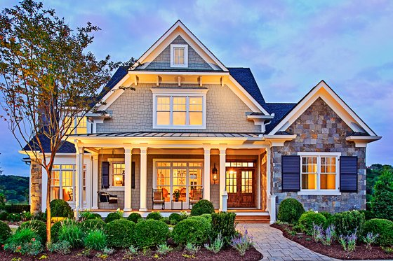 Home Plan Design - Craftsman Exterior - Front Elevation Plan #927-5
