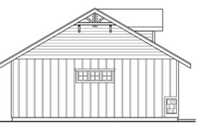 Craftsman Exterior - Other Elevation Plan #124-789 - Houseplans.com