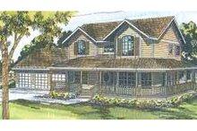 Home Plan - Farmhouse Exterior - Other Elevation Plan #124-407