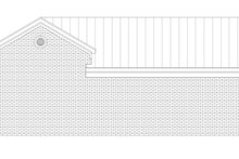 Country Exterior - Rear Elevation Plan #932-73