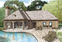 Home Plan - European Exterior - Front Elevation Plan #17-2577