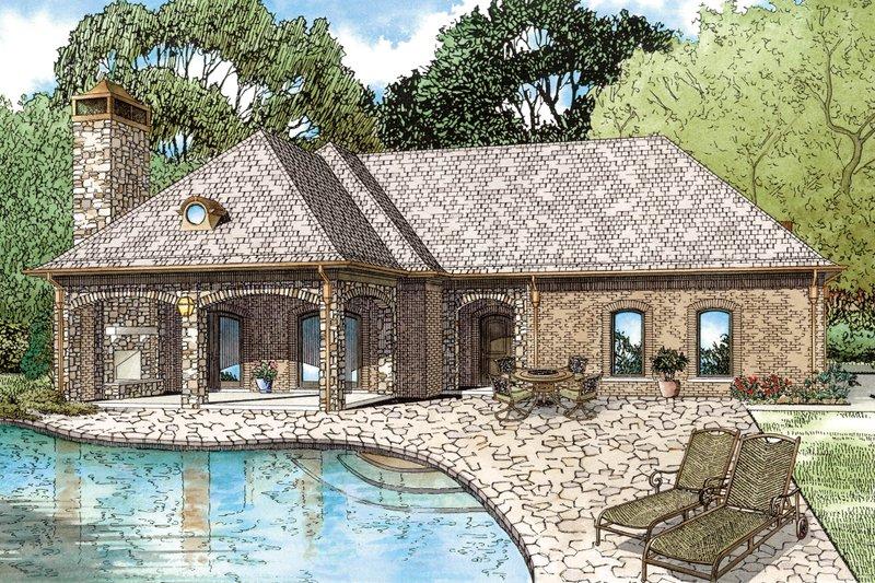 Dream House Plan - European Exterior - Front Elevation Plan #17-2577