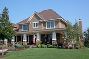 Craftsman Style House Plan - 4 Beds 3.5 Baths 3635 Sq/Ft Plan #51-455 Exterior - Other Elevation