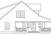 Craftsman Style House Plan - 5 Beds 3 Baths 2288 Sq/Ft Plan #124-803 Exterior - Other Elevation