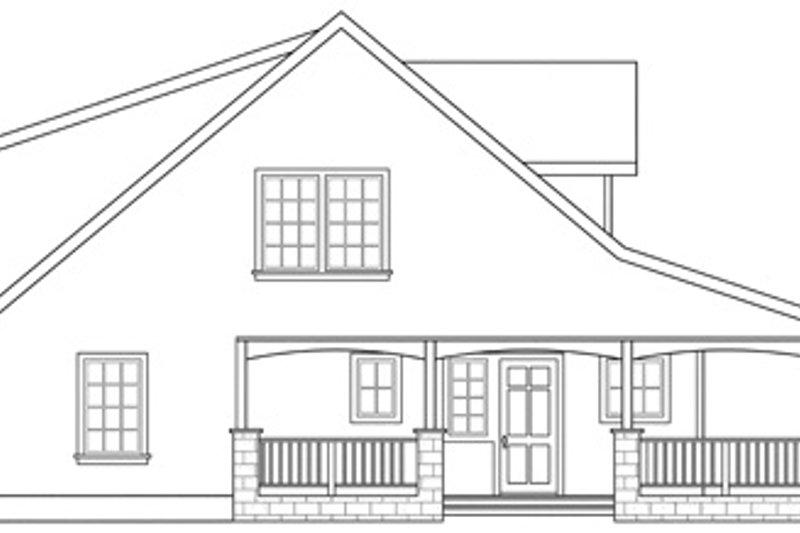 Craftsman Exterior - Other Elevation Plan #124-803 - Houseplans.com