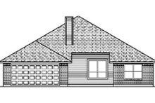 Traditional Exterior - Rear Elevation Plan #84-356