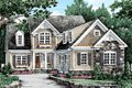 Traditional Style House Plan - 3 Beds 2.5 Baths 1975 Sq/Ft Plan #927-42 Exterior - Front Elevation