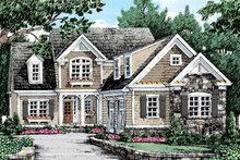 House Plan Design - Traditional Exterior - Front Elevation Plan #927-42