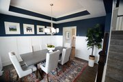 Traditional Style House Plan - 4 Beds 3.5 Baths 2754 Sq/Ft Plan #898-29 Interior - Dining Room