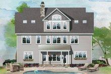 Craftsman Exterior - Rear Elevation Plan #929-1079
