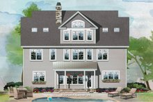Craftsman Exterior - Rear Elevation Plan #929-1079