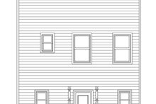 Contemporary Exterior - Rear Elevation Plan #932-292