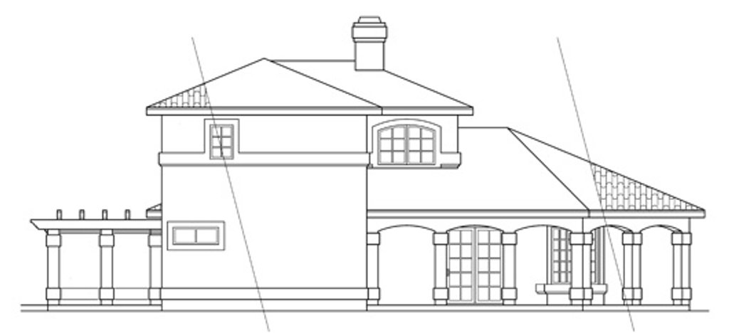 Elevation Plan Ne Demek : House plan beds baths sq ft