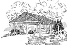 Home Plan - Traditional Exterior - Front Elevation Plan #124-663