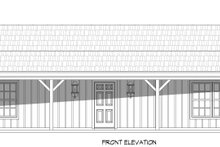 Dream House Plan - Country Exterior - Front Elevation Plan #932-96