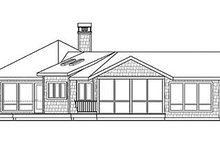 Dream House Plan - Craftsman Exterior - Other Elevation Plan #124-861