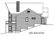 Bungalow Style House Plan - 2 Beds 4 Baths 4040 Sq/Ft Plan #117-613 Exterior - Other Elevation