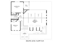 Country Floor Plan - Upper Floor Plan Plan #932-33