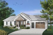 Ranch Style House Plan - 2 Beds 1 Baths 1443 Sq/Ft Plan #23-2652
