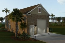 Dream House Plan - Traditional Exterior - Rear Elevation Plan #1060-88