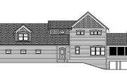 Farmhouse Style House Plan - 3 Beds 2.5 Baths 3158 Sq/Ft Plan #51-300 Exterior - Rear Elevation