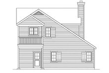 House Plan Design - Country Exterior - Rear Elevation Plan #22-611