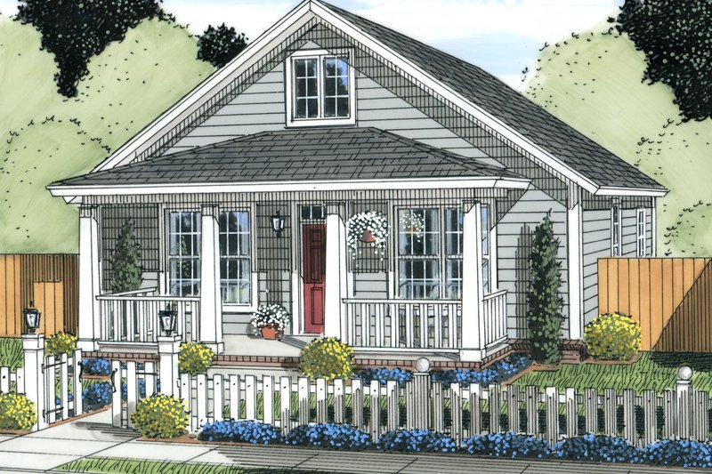 Craftsman Exterior - Front Elevation Plan #513-2094 - Houseplans.com