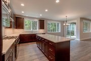 Contemporary Style House Plan - 4 Beds 3.5 Baths 3048 Sq/Ft Plan #569-36 Interior - Kitchen
