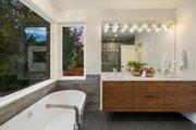Modern Style House Plan - 4 Beds 3.5 Baths 3595 Sq/Ft Plan #1066-3 Interior - Master Bathroom