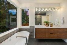 Modern Interior - Master Bathroom Plan #1066-3