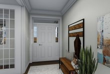 House Plan Design - Traditional Interior - Entry Plan #1060-67