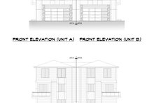 Home Plan - Contemporary Exterior - Other Elevation Plan #1066-119